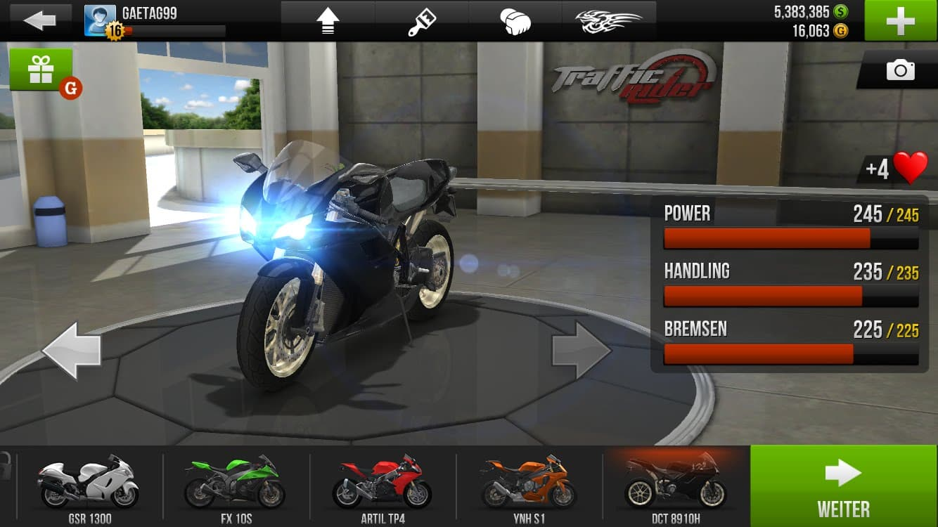 hack traffic rider android