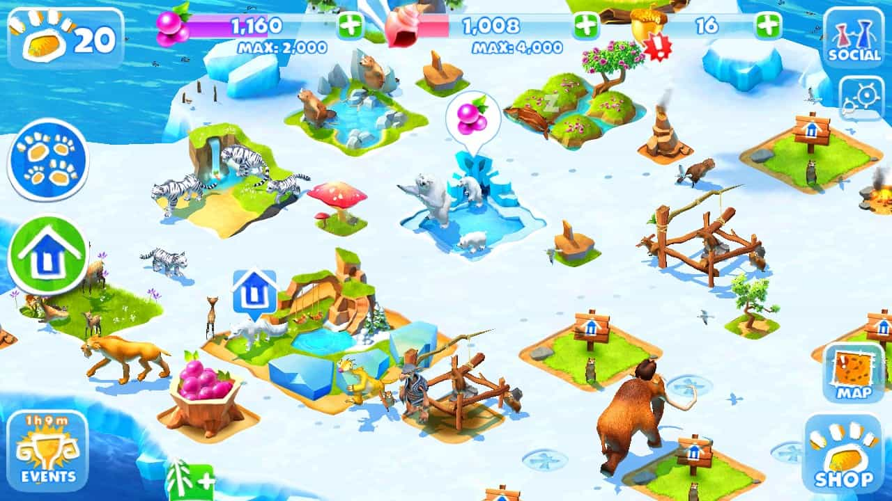 tải ice age advantures hack mod