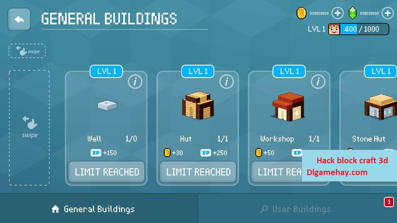 block craft 3d hack unlimiteds