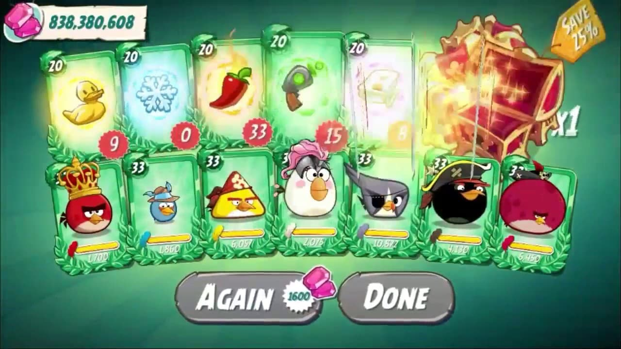 hack angry birds 2 mod money