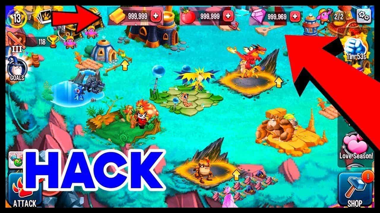 hack monster legends