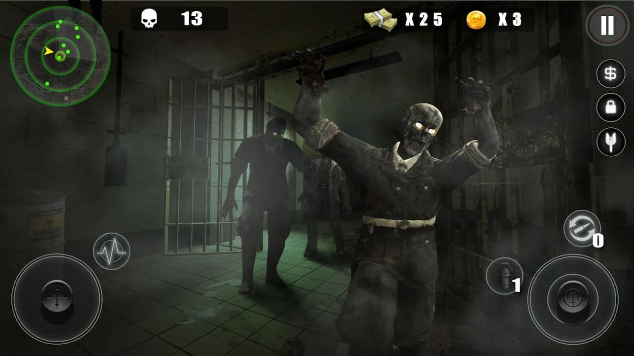 hack zombie hitman cho android