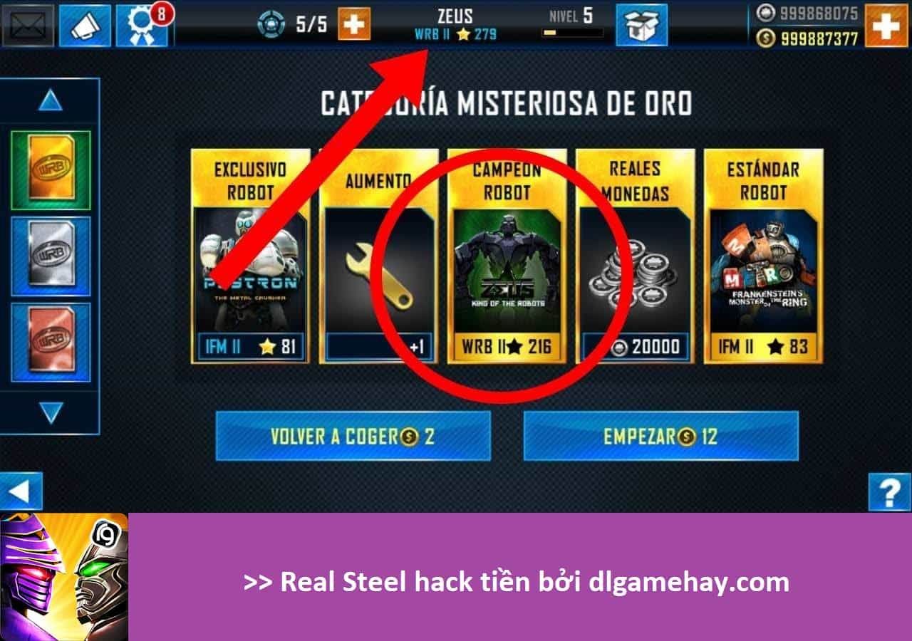 Real Steel hack apk