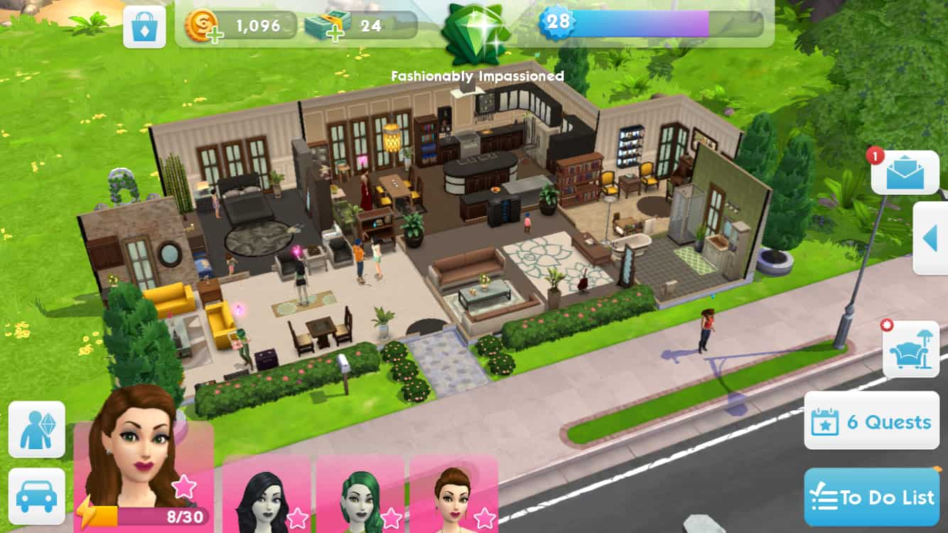 tải the sims mobile mod