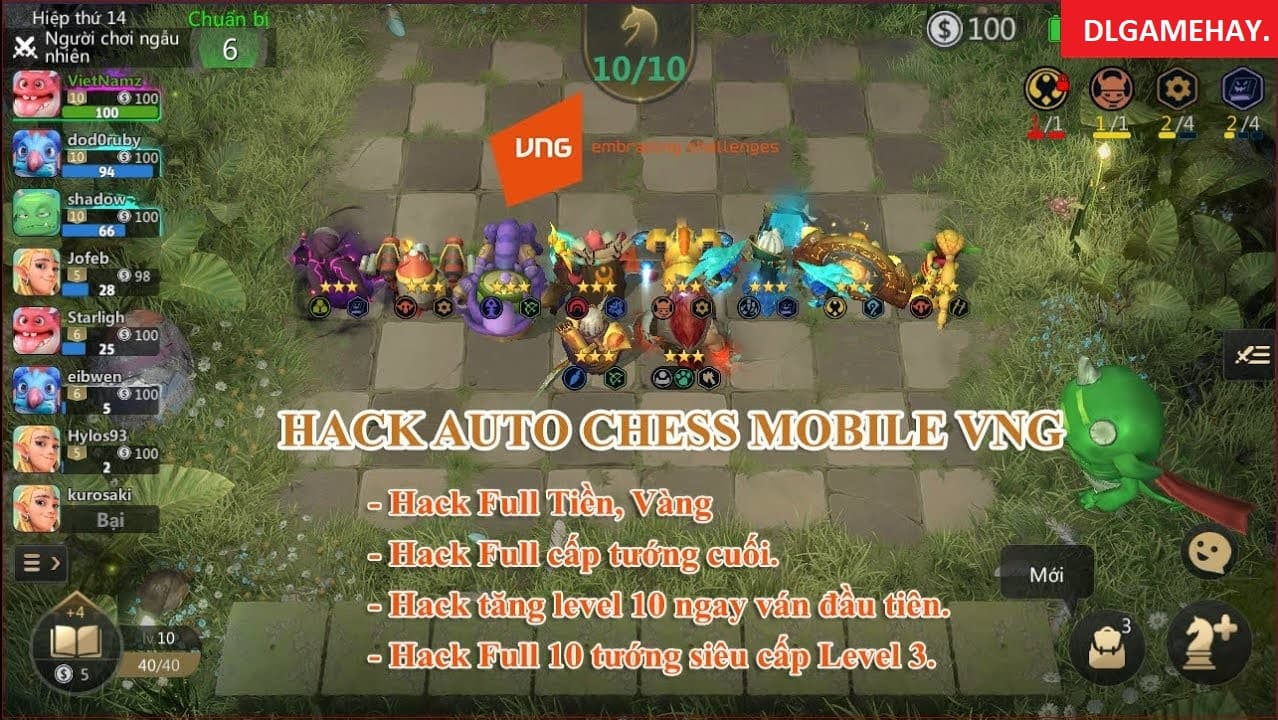 auto chess mobile hack android