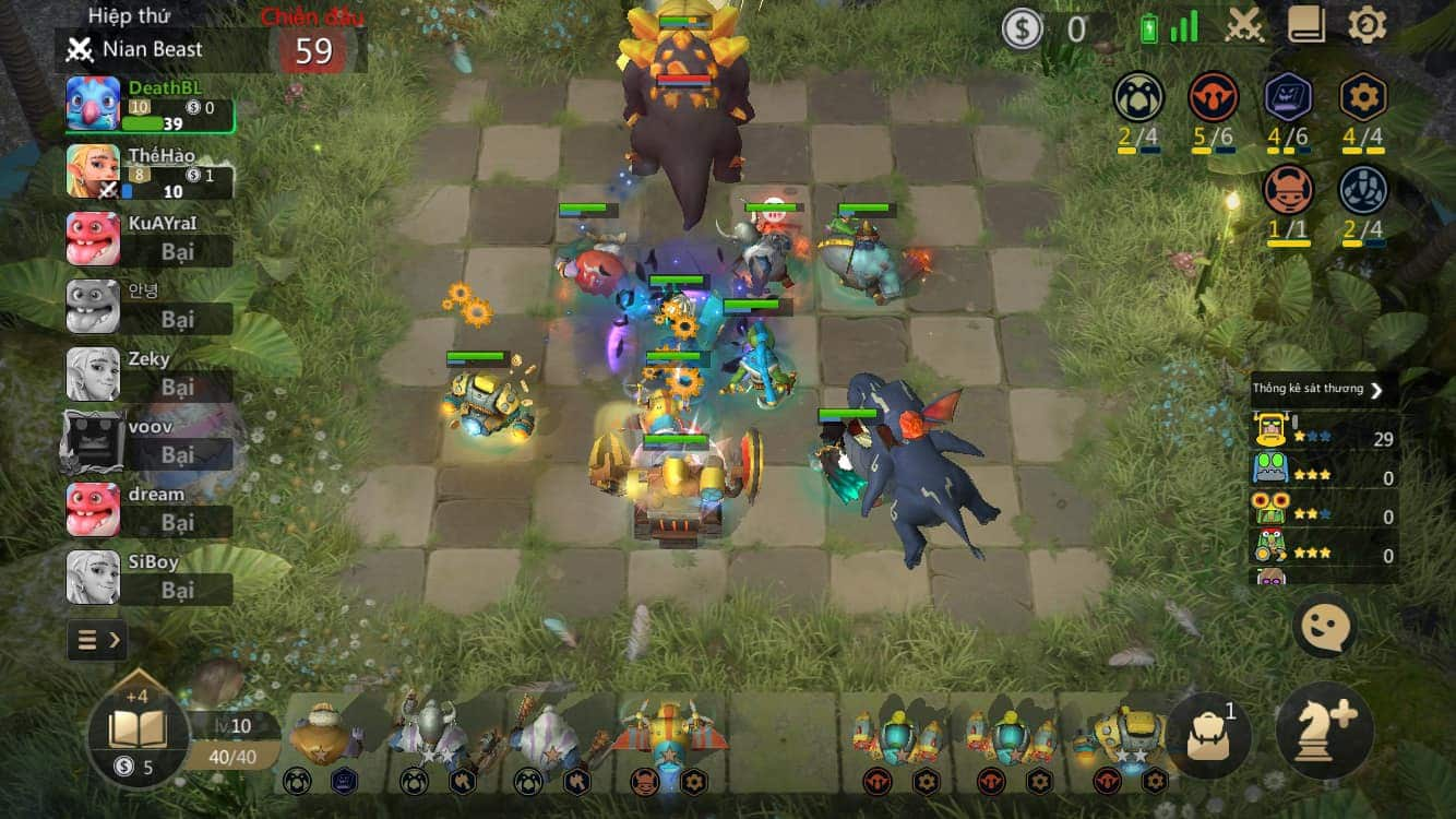 game auto chess mobile