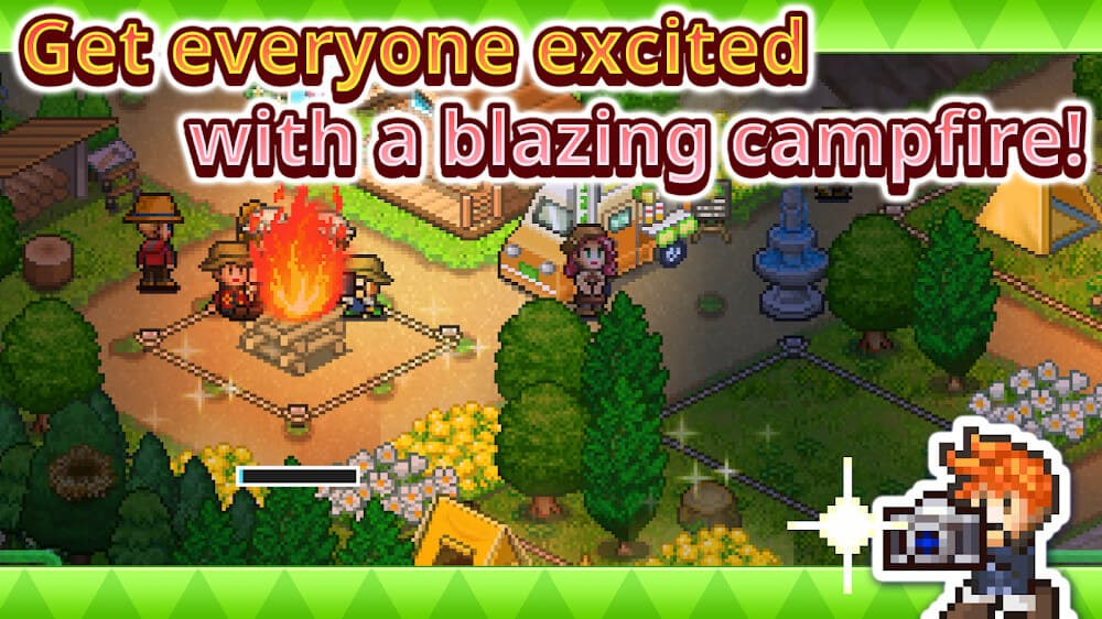hack game forest camp stories